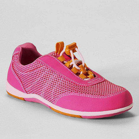 Lands+ End - Pink girls+ water sport shoes
