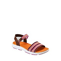 Lands' End - Orange alpargta sandals