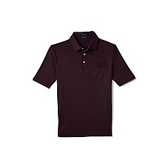 Lands' End - Red supima polo with pocket