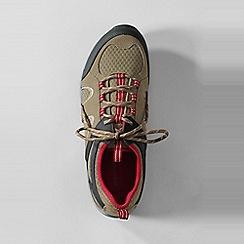 Lands' End - Green men's trekker light trail shoes