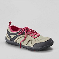 Lands' End - Green women's trekker light trail shoes