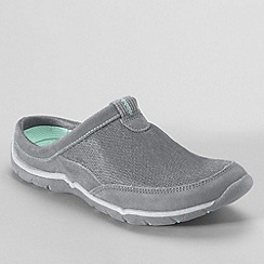Lands' End - Grey women's everyday mules