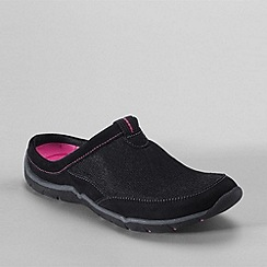 Lands' End - Black women's everyday mules