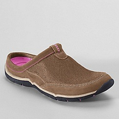 Lands' End - Beige women's everyday mules