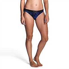 Lands' End - Multi women's aquaterra tropical bikini bottoms