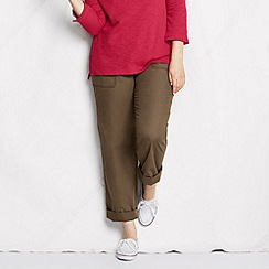 Lands' End - Beige women's plus market pants
