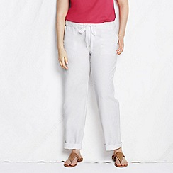 Lands' End - White women's plus market pants