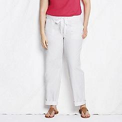 Lands' End - White women's plus market pants