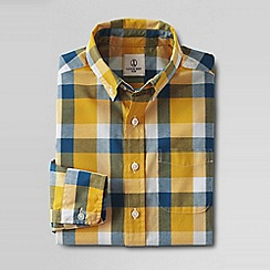 Lands' End - Gold little boys' buttondown poplin shirt