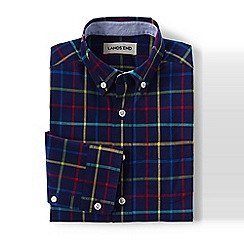 Lands' End - Boys' multi buttondown poplin shirt