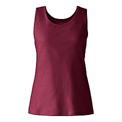 Lands' End - Red plus cotton vest top