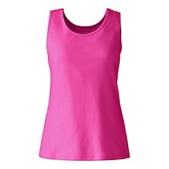 Lands' End - Plus size Purple plus cotton vest top
