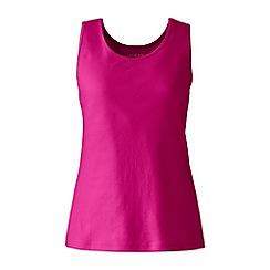 Lands' End - Pink plus cotton vest top
