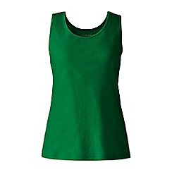 Lands' End - Green plus cotton vest top