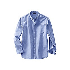 Lands' End - Blue tall  sail rigger oxford shirt