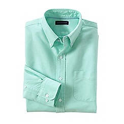 Lands' End - Green tall  sail rigger oxford shirt
