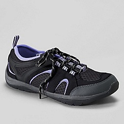 Lands' End - Blue women's trekker light trail shoes