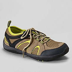Lands' End - Beige women's trekker light trail shoes