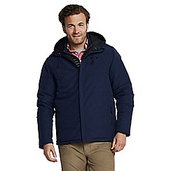 Lands' End - Blue reversible squall jacket
