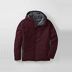 Lands' End - Purple men's reversible squall jacket