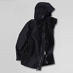 Lands' End - Black  f(x) performance collection 3-in-1 jacket