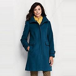 Lands' End - women's luxe wool walker coat
