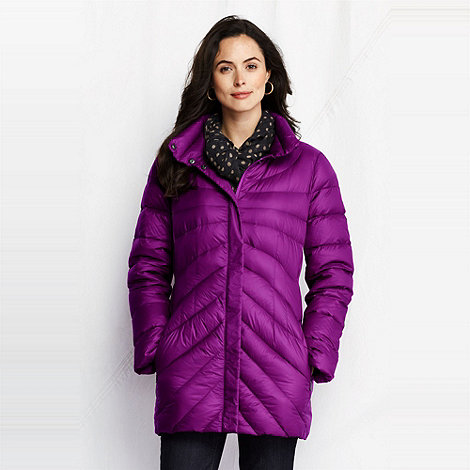 Lands+ End - women+s featherlight down parka
