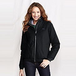 Lands' End - Black women's classic squall jacket