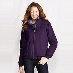 Lands' End - Purple petite classic squall jacket