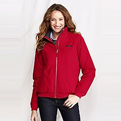 Lands' End - Red petite classic squall jacket