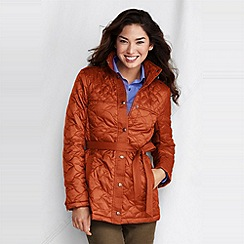 Lands' End - women's quilted insulator parka
