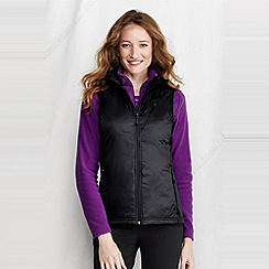Lands' End - Black women's primaloft power stretch gilet