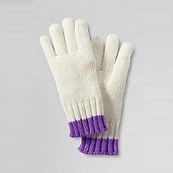 Lands' End - Girls' Tipped Gloves