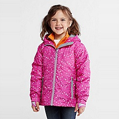 Lands' End - girls' patterned stormer jacket