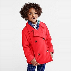 Lands' End - girls' thermacheck-200 fleece pea coat