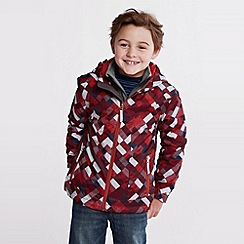 Lands' End - boys' patterned stormer jacket