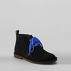Lands' End - Black boys' chukka boots