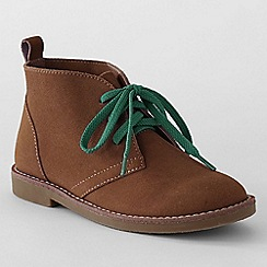 Lands' End - Brown kids' chukka boots