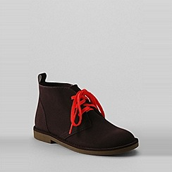 Lands' End - Brown boys' chukka boots