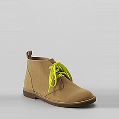 Lands' End - Beige boys' chukka boots