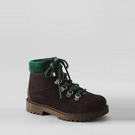 Lands+ End - Brown boys+ alpine boots