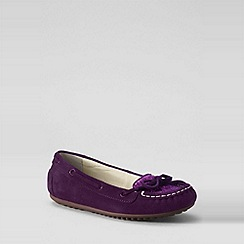 Lands' End - Girls' jade sequin moccasins
