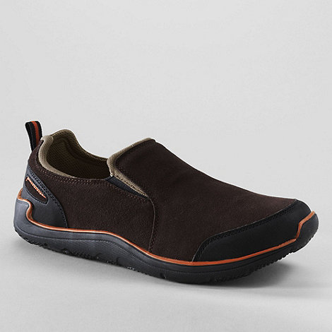 Lands+ End - men+s active sport slip-on shoes