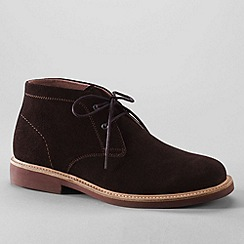 Lands' End - Brown men's archer desert boots