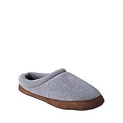 Lands' End - Grey fleece clog slippers