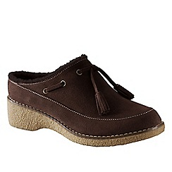 Lands' End - women's chalet tassel clogs