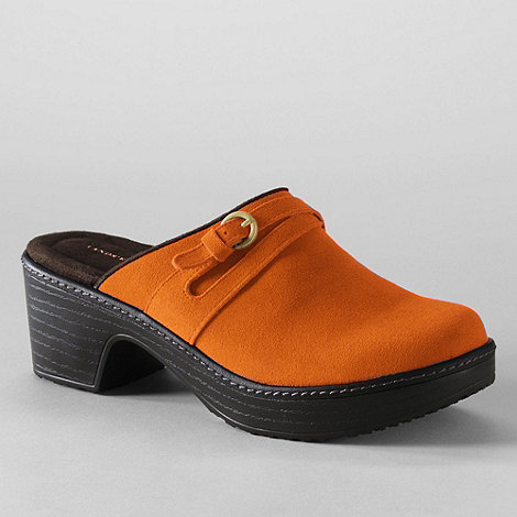 Lands+ End - women+s carly clogs