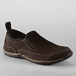 Lands' End - Brown women's everyday slip-on shoes