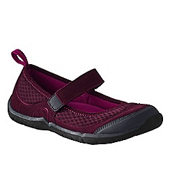 Lands' End - Purple women's trail sport mary jane shoes