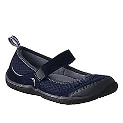 Lands' End - Blue women's trail sport mary jane shoes